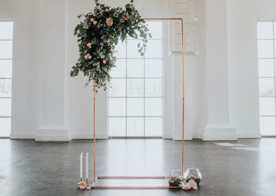 Wedding-Backdrops-Arches-Copper-Piping-